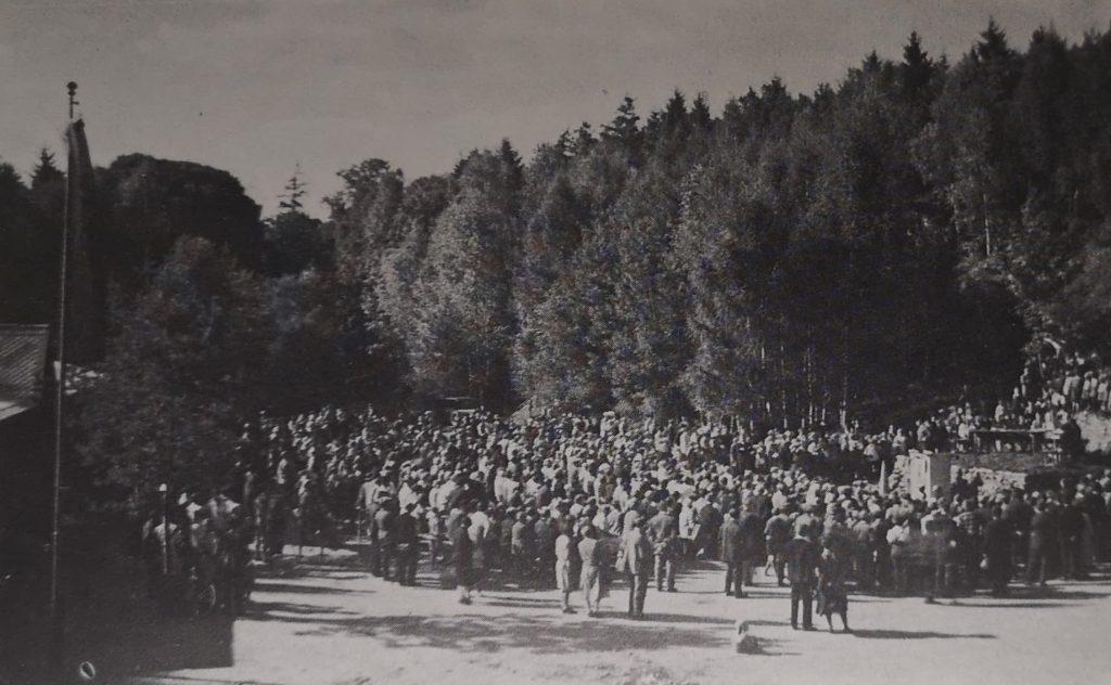 1932 fanden die vorerst letzten Freizeiten im AWO-Waldheim statt.