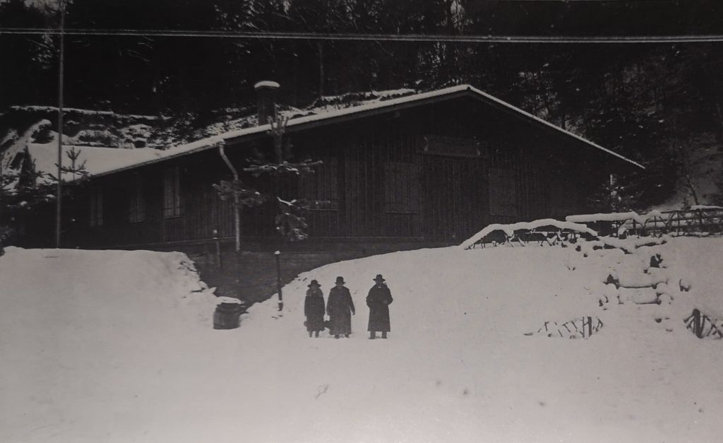 Die Waldheim-Baracke in 1932